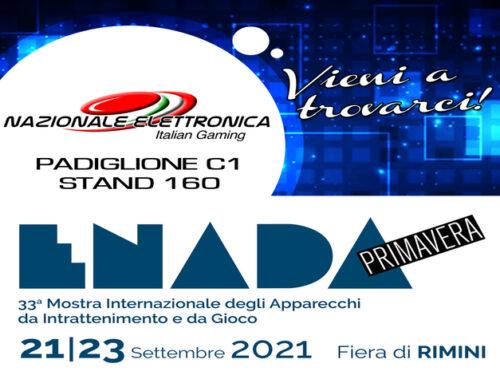 Nazionale Elettronica conferma la sua partecipazione a Enada